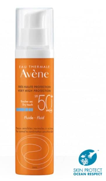 avene protection solaire SPF 50+