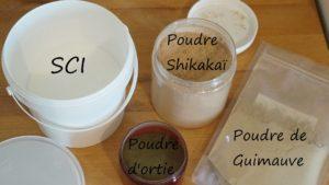[Recette] Shampoing solide au Shikakaï, Poudres d'ortie et de guimauve