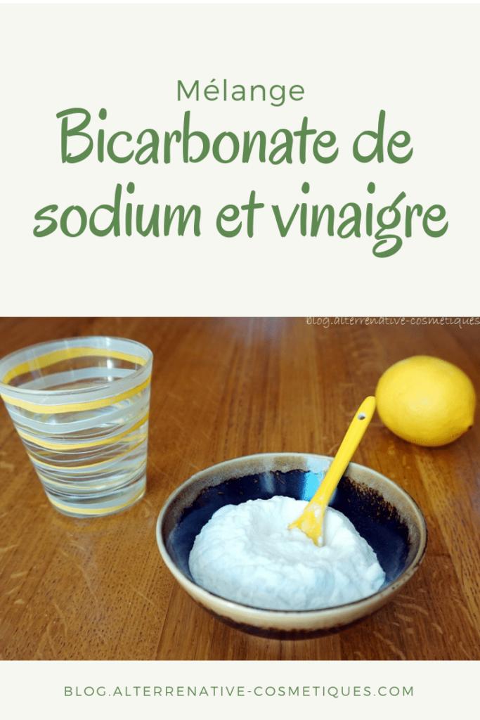 bicarbonate soude vinaigre